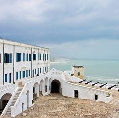 Cape Coast Castle {slave fort} in Ghana - Capturing Joy with Kristen Duke