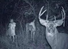 25 Creepy Photos: Welcome to Your Nightmare **What if this was on your game camera?!?!! Lol lol!!