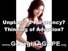 Am I Pregnant Alpharetta GA, Adoption Facts, Georgia AGAPE, 770-452-9995... https://youtu.be/mAjREXyOPoA