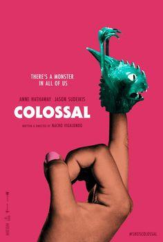póster de 'Colossal', de Nacho Vigalondo