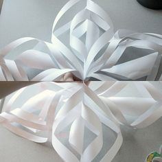 Heidi-and-Seek: DIY Crafty Christmas: 3D Snowflake Art