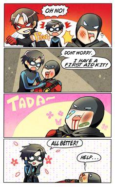 Nightwing, Dc Batgirl, Batman Y Superman, Batman Robin, Tim Drake, Red Hood, Damian Wayne, Robins, Catwoman