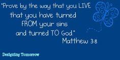 Matthew 3:8