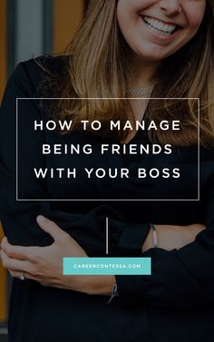 The secret to keeping a professional relationship with your boss—when you're also friends. #CareerAdvice #Relationships