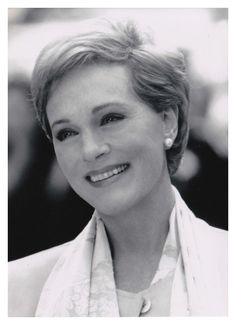 Julie Andrews - for class with humor