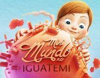 Mini Mundo no IGUATEMI by Romeu e Julieta - Estúdio, via Behance