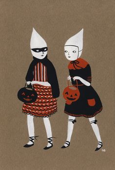 Ghost girls trick by Amy Earles