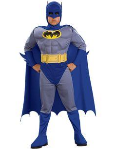 Child Muscle Chest Batman Brave and Bold Costume : Get It On Fancy Dress Superstore, Fancy Dress & Accessories For The Whole Family. http://www.getiton-fancydress.co.uk/superheros/batmanrobin/childmusclechestbatmanbraveandboldcostume#.Uuudqfsry10