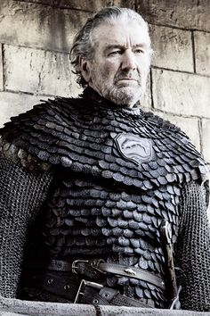"""Brynden """"The Blackfish"""" Tully in Game of Thrones 6.07 """"The Broken Man"""" (x)"""