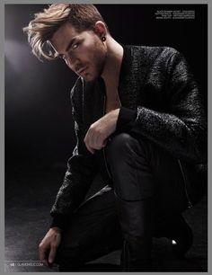 Adam Lambert in Nov 2015 issue of Glamoholic Magazine