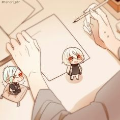 Cool Anime Girl, Anime Guys, Anime Neko, Manga Anime, Chibi Body, Touken Ranbu, Cute Babies, Otaku, Kawaii