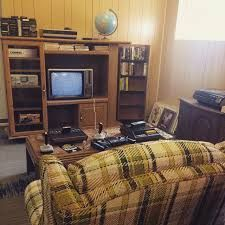 Console living room console living room there is something that loves a paneled wall modern tv 1980s Living Room, Living Comedor, Logs, Room Decor, Interior Design, Inspiration, Google Search, Playroom, British Family