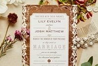 Get up to 5 free samples of invitations or save the dates