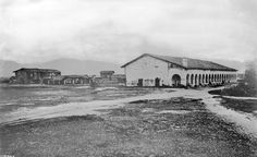 San Fernando Mission in 1870. Founded 1797.