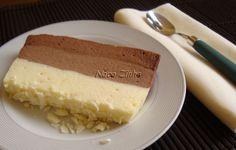 Torta de três chocolates