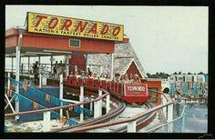 "Tornado ""Nation's Fastest Roller Coaster"" at Petticoat Junction, Panama City Beach, Florida"