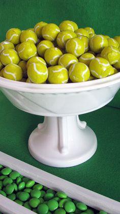 chocolate tennis balls