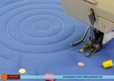 The Free Motion Quilting Project: How to Quilt Concentric Circles