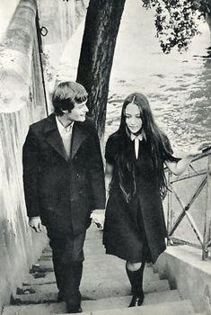 great style. 1968. Leonard Whiting & Olivia Hussey of Romeo & Juliet
