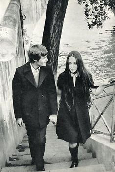 great style. 1968. Leonard Whiting & Olivia Hussey of Romeo & Juliet
