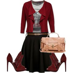 """""""look 1"""" by princesspaola on Polyvore"""