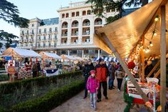 Christmas market in Portoroz on the Slovene coast