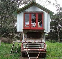 Tiny Truck Houses - from the front