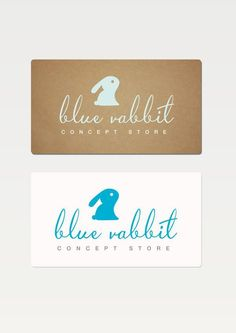 Blue Rabbit logo on Behance Logo Rabbit, Childrens Logo, Bunny Logo, Corporate Id, Name Card Design, Cartoon Logo, Dog Logo, Kids Logo, Kids Branding