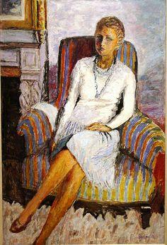 Portrait of Leila Claude Anet by Pierre Bonnard (1930), Norton Simon Museum, Pasadena