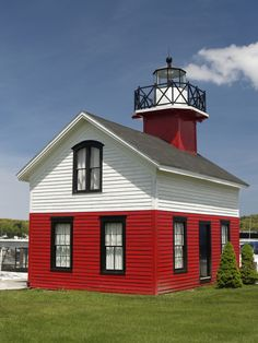 Saugatuck #lighthouse - Lake Michigan, Allegan County, #Michigan - http://dennisharper.lnf.com/                                                                                                                                                                                 More