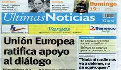 Últimas Noticias Vargas  domingo 19  de junio de  2016