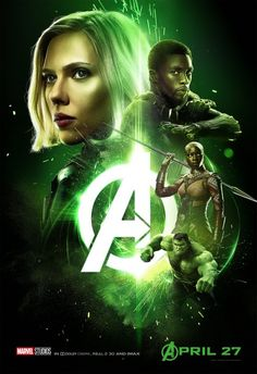 Avengers: Infinity War Charakterposter 4