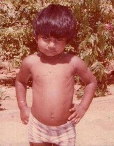Rare Childhood Picture of Salman Khan.