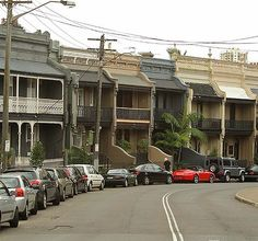 Worth a fortune ... terraces on Glenmore Road, Paddington, NSW