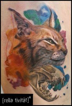 Beautiful animal tattoo