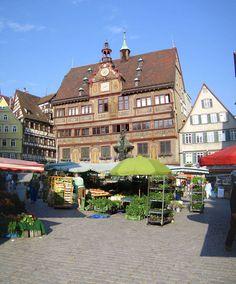 Tübingen, Baden-Wurttemberg Tübingen ist eine schöne Stadt. Besucher in Deutschland müssen hierher kommen!