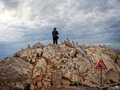 Sveti Jure mountain in Croatia