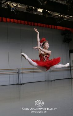 Riho Sakamoto as a Firebird. Kirov Academy of Ballet rehearsals for performance at the National Gallery of Art, July 13, 1 pm and 3:30 pm