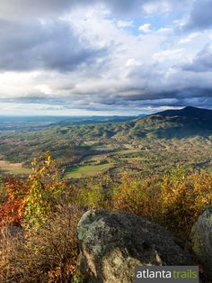 Hike the Fort Mountain Trail to stunning views, an ancient rock wall and a 1930s stone fire tower at Fort Mountain State Park in north Georgia near Elijay