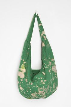 62f855a94dd41 make hobo bag Urban Renewal Bleached Sweatshirt Hobo Bag Online Only -