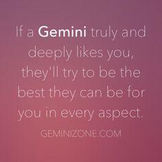 Gemini Facts / Best Gemini Information / Yes, I'm a Gemini