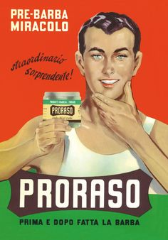 Way back in 1908 when Ludovico Martelli started the Proraso legend, shaving was as much a social event as it was a grooming ritual. The barbershop was the place to meet up with friends and acquaintances and the barber was the king. Proraso began in a barbershop and found its way into Italian shaving folklore �