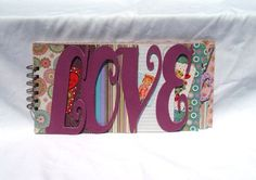 2013 Columbus Spring Avant-Garde Art & Craft Show Vendor: Bodacious Brag Books- Love You Bragbook (scrapbook)