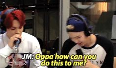 yoonmin/ what I say when I see yoonmin. Jimin says it in a cute voice lol