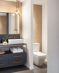 Bathroom Toilets, Bathroom Renos, Bathroom Flooring, Small Bathroom, Master Bathroom, Toilet Wall, Minimalist Home, Amazing Bathrooms, Bathroom Inspiration