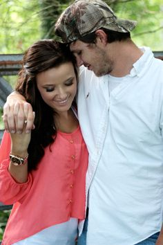 Couple photography. Cute & simple pose...this is a must have for matt and I...I like the solid white and camo!