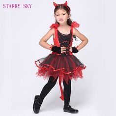 Catwoman Dance Dress Performance Halloween Costumes Anime Cosplay Red Costumes For Kids Children Trendy Halloween, Halloween Costumes For Girls, Girl Costumes, Cosplay Costumes, Dance Costumes, Devil Halloween, Girl Halloween, Halloween Clothes, Halloween Party