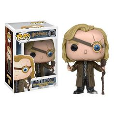 Expand your Hogwarts family! Professor Mad-Eye Moody joins the Harry Potter collection from Funko! Packaged in a window display box, this Harry Potter Mad-Eye Moody Pop! Vinyl Figure measures approxim