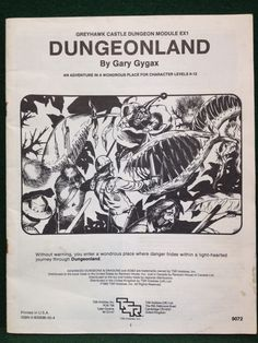Advanced Dungeons & Dragons - Dungeonland - AD&D TSR - 9072