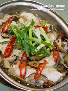 Fong& Kitchen Journal: Steamed Fish with Szechuan Preserved Vegetable Fong& Kitchen Journal: Steamed Fish with Szechuan Preserved Vegetable gedämpfte Fischrezepte gedämpfte fischrezepte folienverpackungen Steam Recipes, Fish Recipes, Seafood Recipes, Asian Recipes, Cooking Recipes, Chinese Recipes, Steam Food Recipe, Cooking Ham, Cooking Beets